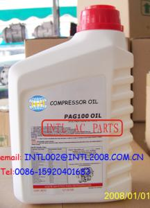 China 1L PAG 46 100 150 a/c compressor oil R134A A/C SYSTEMS car Air Conditioning Compressor R134a Oil lubricant on sale