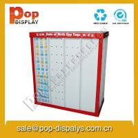 China Greeting Card Cardboard Pallet Display Stands For Store Promotion on sale