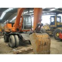 Used Wheel Excavator Hitachi EX100WD