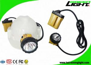 China CREE LED 25000lux Coal Mining Lights 10.4Ah Samsung Battery With SOS Low Power Warning Function on sale