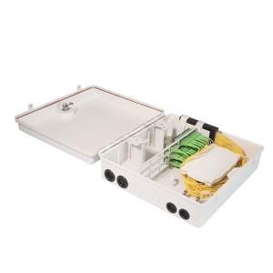 China Wall Mounted Optical Fiber Distribution Frame 185mm ROHS 72 Cores on sale