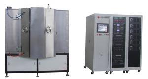 China Aluminum / Chrome Vacuum Metalizing Machine ,  Magnetron Sputtering Coating For Automotive Mirrors on sale