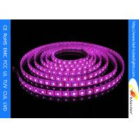 IP68 UV Purple 5050 SMD Flexible LED Strip Light For Stage , Bar , KTV , Hotel