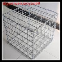 gabion box / welded gabion box /welded stone cage gabion box/10% aluminum gabion box