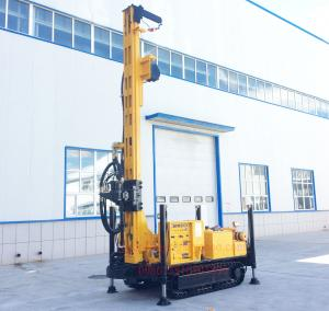 China Crawler Mounted Deep Hole Water Well Drilling Machine with 90 - 300 mm Diameter on sale