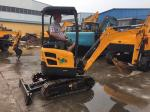Best price for China high quality narrow place working mini crawler bucket backhoe excavator equipment