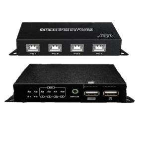 China 1080p Resolution USB KM Switch 4 Port Mouse Keyboard Synchronizer Durable on sale