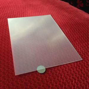 China Wholesale Thin Clear PET 100  lpi 3D Lenticular Foil Lens Sheets plastic 3d film matericls for 3d lenticular painting on sale