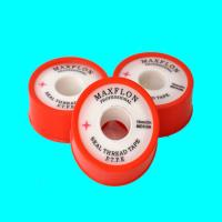 China PTFE TAPE , PTFE Seal Tape ,19mm x0.075mm x20m OD56mm , PTFE Thread Seal Tape , water use on sale