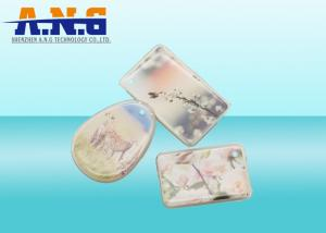 China Durable RFID Crystal Epoxy Material Coated Jelly Tag For Management , reliable on sale