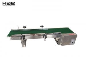 China 250 M Width Stainless Rack Rubber Belt High Stablity Step Motor Industrial Conveyor Belts on sale