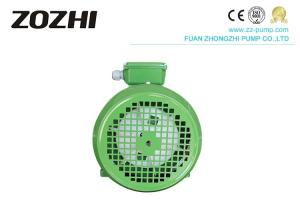 China Aluminum Case 3 Phase Asynchronous Motor 100% Copper Wire 1400rpm 0.75kw 2 Poles on sale