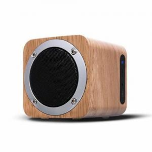 China Portable Stereo Bluetooth Speakers FM Mini wooden Wireless Bluetooth Speaker for Home on sale