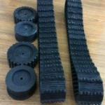 Rubber Track (100*20*76) for Robot
