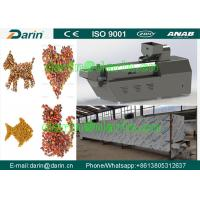 China Multifunction Stainless Steel full automatic Pet Food Extruder / Feed Pellet Extruder on sale