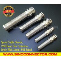 IP68 Rated Spiral Metallic (Brass) Cable Gland with Flexible Kink & Twist Protection