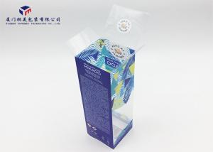 China Retail Product Printed PET Hard Plastic Box Packaging Rectangle Shape Eco Friendly on sale