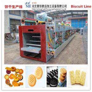 China SAIHENG wafer baking oven / baking oven in wafer biscuit production line on sale