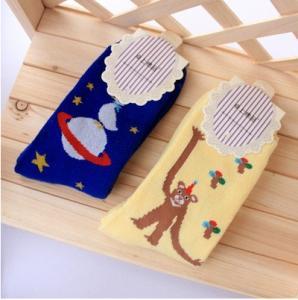 China Fashion little duck&long arm bear warmer 100% cotton Socks on sale