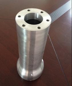 China Custom  Aluminum Machined Parts With 6063 Alloy , Black Anodized Aluminum Tube on sale