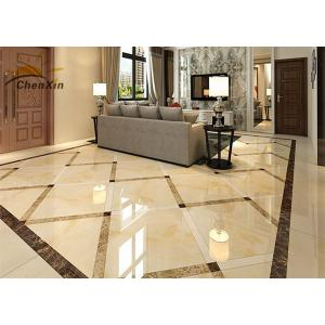 China Crush Resistant Polished Porcelain Wall Tiles Formaldehyde Free For Villa on sale