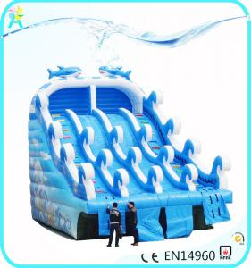 2018 hot-sale Rainbow Inflatable Water Slides used with ...