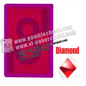 China Fournier 2818 Marked playing Cards|invisible ink+UV contact lenses=cheating in the card games easily on sale