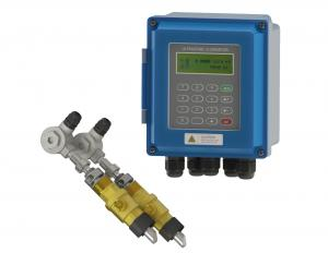 China Transit Time Ultrasonic Flow Meter DN50 - 700 For Waste Water Treatment on sale
