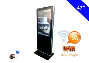 China Wifi wireless network Digital Signage , Digital Kiosk Advertising Screen Panel on sale