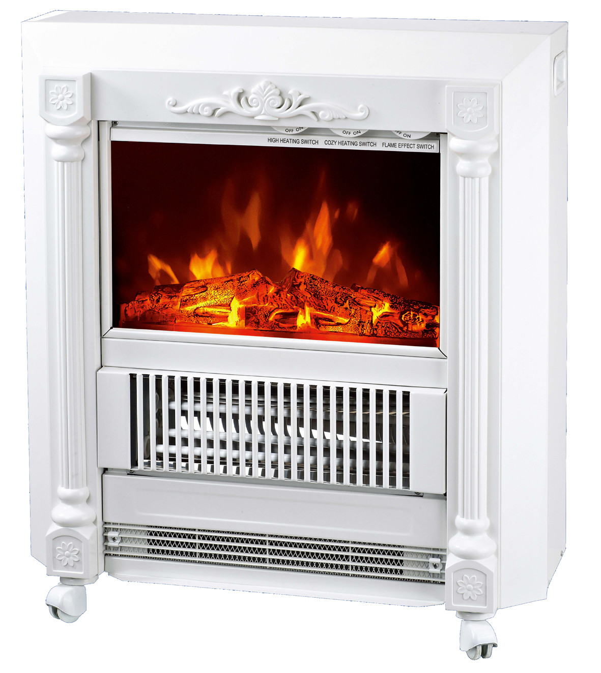 Mobile Fireplaces Electric Heater Fire Log Electric Stove Ndy 20