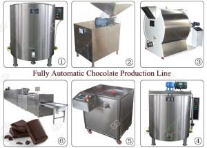 China Fully Automatic Industrial Nut Butter Grinder Chocolate Production Line Making Machine on sale