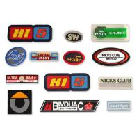 Garment label rubber patches rubber material soft rubber eco-friendly PVC rubber label silicone label logo customized