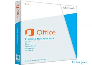 China Instant Download Microsoft Windows Office 2013 Key , Desktop Home & Business 2013 on sale