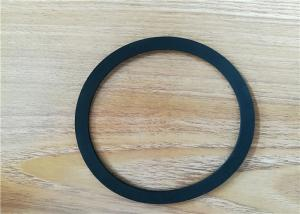 China Durable Silicon Rubber Seal Gasket , Custom Made Round Flat Rubber Gasket on sale