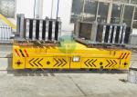 Heavy Load Motorized Industrial Interbay Reliable Material Transfer Trolley for Hot Pipes Handling