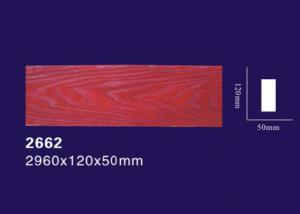 China Ceiling Decorative Polyurethane Wood Beams Light Weight With Wood Grain Design on sale