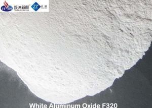 China Strong Cutting Force White Aluminum Oxide Media Polishing Powder 3.95 G / Cm3 True Gravity on sale