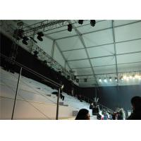 Temperature Resistance Outside Party Tents 500 Seaters For Wedding / Exhibition