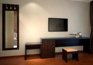 China Protección del medio ambiente del mobiliario del hotel del escritorio del ordenador del hotel de apartamento on sale