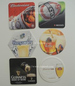China Round/Square beer Coasters, Paper Coasters, Printed Coasters, bar coasters on sale