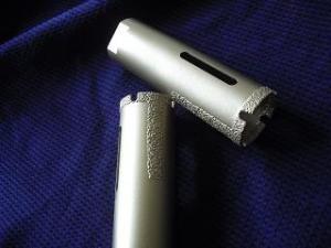 China Vacuum Brazed diamond core drill bits on sale