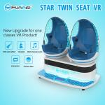 Blue Light 3 Square Mertre 9D Cinema Egg / 360 Degree Virtual Reality Machine