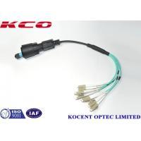 China FTTA Ericsson RRU Fiber Optic Patch Cord LSZH PE Black Color UV Resistant on sale