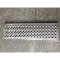 China 300 * 1000MM Aluminum Walkway Grating, Round Hope No Slip Stair Treads on sale