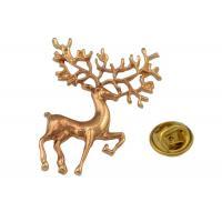 Custom Women Metal Pin Badges Fashioning Christmas Metal Brooch Pin For Garment Accessory
