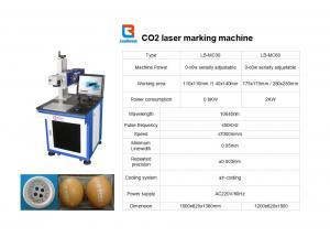 China Metal la cortadora del laser o la máquina del laser del CO2 para cliché/el cuero on sale