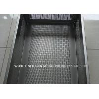 China Tank Laser Cutting Holes Stainless Steel Sheet Metal Finishes For Filtering Water on sale