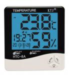 HTC-8A LCD display temperature and humidity meter clock