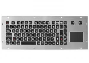 China ATM Kiosks Metal StainlessSteel Industrial 90 Keys IP67 Water Proof With Touchpad on sale