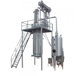 China 500-1000L Herb Extraction Equipment In Stevia Hemp CBD Leaf Extraction And Concentration Line on sale